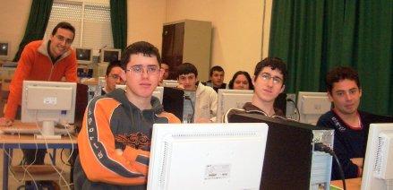 Charla sobre Blogs en el IES 'Sierra Nevada' de Fiñana